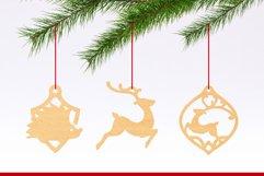 Christmas Ornaments Vol.2 - 120 Laser Cut Files Bundle Product Image 6