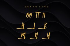 Qufiky Handwritten Display Font Product Image 2