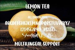 Lemon Tea Product Image 6