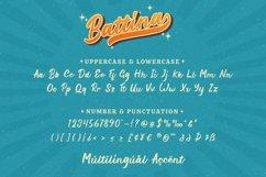 Battina - Vintage Display Font Product Image 6