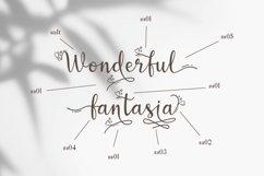 Wonderful Lovely - a Romantic Script Font Product Image 6