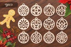 Christmas Ornaments Vol.1 - 120 Laser Cut Files Bundle Product Image 6