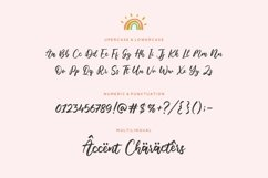 Blondie Rainbow Modern Calligraphy Font Product Image 6