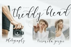White Carley Modern Calligraphy Font Product Image 6