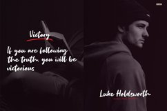 Ultimate Victory - A Handwritten Script Font Product Image 6