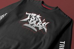 Graffiti fonts   Wildstyler Product Image 5