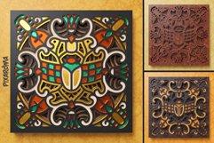 Egyptian Mandala 3D Layered SVG Cut File Product Image 6