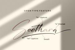 Seethara - Signature Font Product Image 6