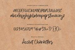 Memphis River Modern Handwritten Font Product Image 6