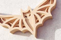 Halloween Bat 3D Layered SVG Cut File Product Image 6