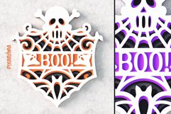 Halloween Signs 3D Layered SVG Cut Files Bundle Product Image 6