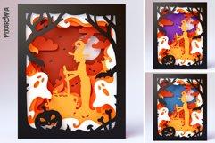 Halloween Wall Art 3D Layered SVG Cut File Shadowbox Product Image 6