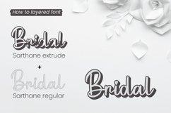 Sarthane - Wedding Font Product Image 6