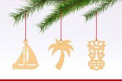 Laser Cut Files Vol.4 - 50 Summer Ornaments Bundle Product Image 6