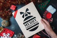 200 Christmas Stencils SVG Cut Files Bundle Product Image 6