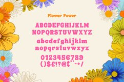 Flower Power Font Product Image 6