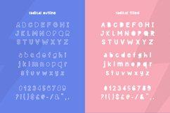 Radical Font Duo Product Image 6