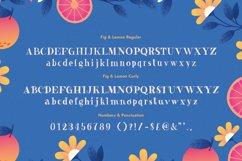Fig & Lemon Font Duo Product Image 6