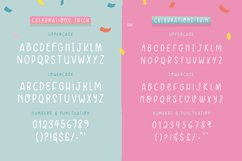 Celebrations Font Duo Product Image 6