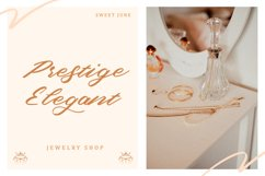 Sweet June - Lovely Script Font Product Image 3