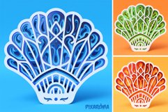 Shell 3D Layered SVG Cut File Product Image 6