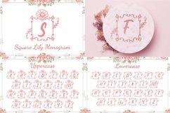 The Wedding Monogram Font Bundle Product Image 6