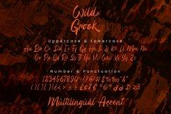 Wild Grook - Brush Script Font Product Image 6