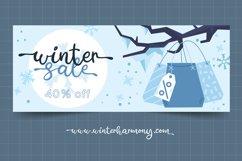 Winter Harmony - Wedding Font Product Image 3