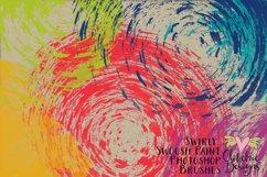 Swirly Swoosh Paint Photoshop Brushes Product Image 4