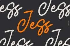 Jess   Signature Script Font Product Image 1