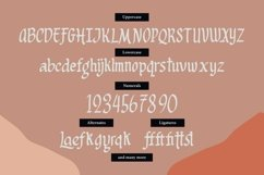 Web Font Lattogea - Casual Broadpens Fonts Product Image 5