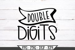Double Digits SVG Product Image 2