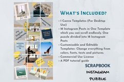 Instagram Puzzle Template Canva- My Scrapbook Product Image 3