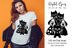 Cats and Dogs design! SVG / PNG / DXF / EPS files Product Image 1