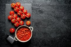 20 Photos Pasta background. Spaghetti with different sauces Product Image 5