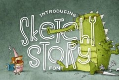 Sketchy Story Font Product Image 1