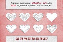 Papercut Hearts| Valentines SVG Bundle Product Image 2