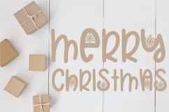 Christmas Snowflakes Font Product Image 5