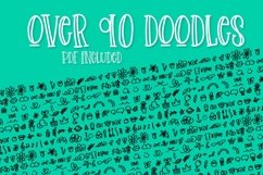 Sketchin - A Doodle & Font Duo Product Image 2