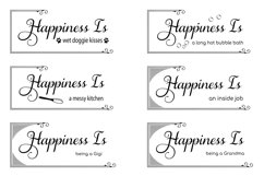 The Happiness Sign Bundle Svg Cut Files Product Image 3