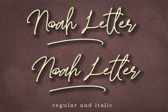 Noah Letter Product Image 9