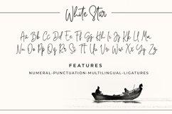 White Star- Chic Handwritten font Product Image 2
