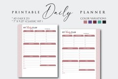 Printable Daily Work Planner Product Image 1
