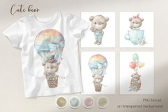 Cute woodland animals clipart. Product Image 2