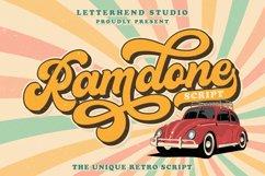 Ramdone - Retro Script Product Image 1