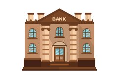 Bank Clipart Product Image 1