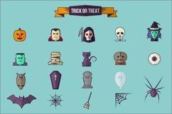 Halloween Flat Icon Set Product Image 4