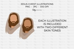 Jesus Christ Illustrations - Clipart in PNG and JPG Product Image 3
