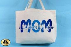 Mothers Day SVG Mom SVg Mama SVG Mom I love you SVG Product Image 2