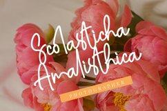 Amalisthica Anastasya Signature Font Script Product Image 5